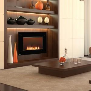 Wall Mounted Electric Fireplace   EF39S  Wall Electric Fireplace